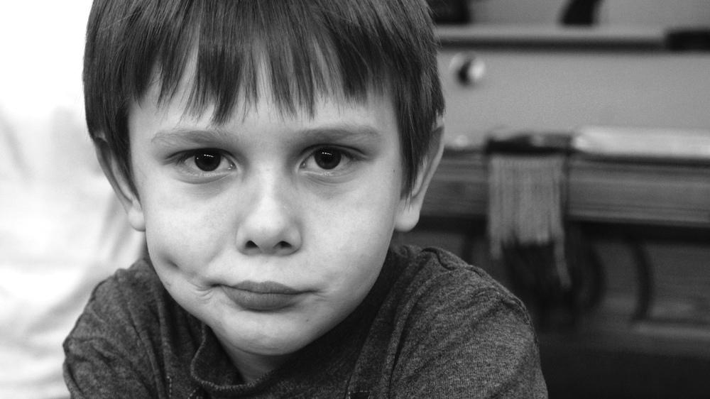 A Confusing Age, Portrait; Age 10