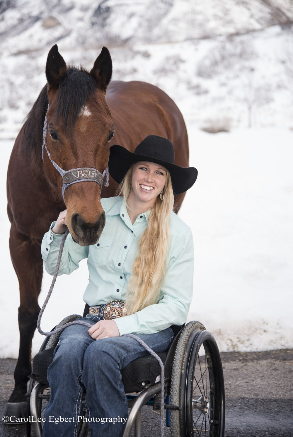 Competitive rodeo star, Amberley Snyder, will share her story of triumph over tragedy