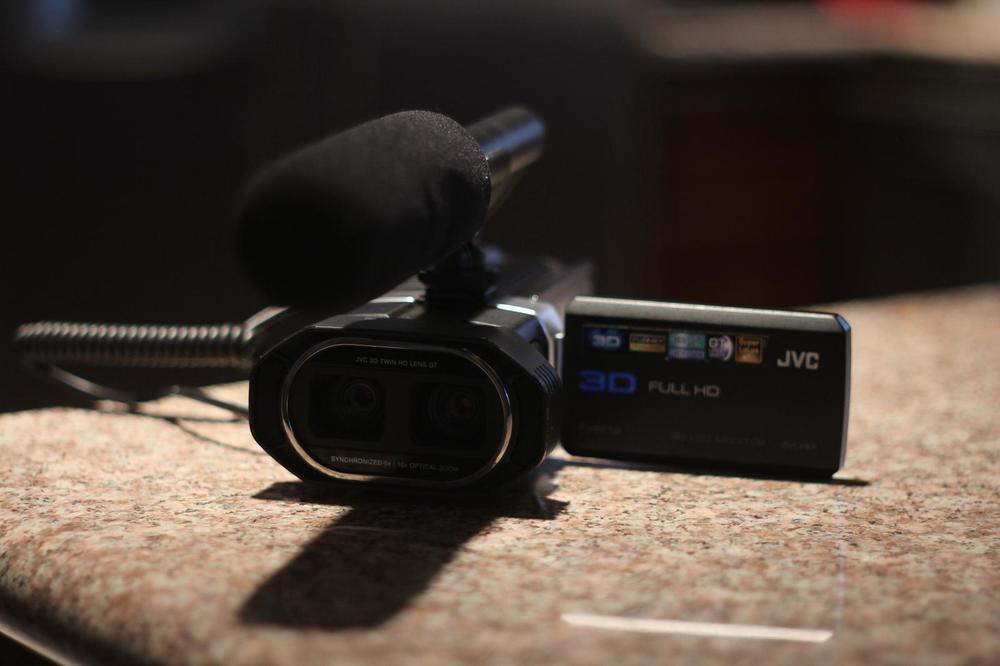 JVC Stereoscopic (3D) Camera