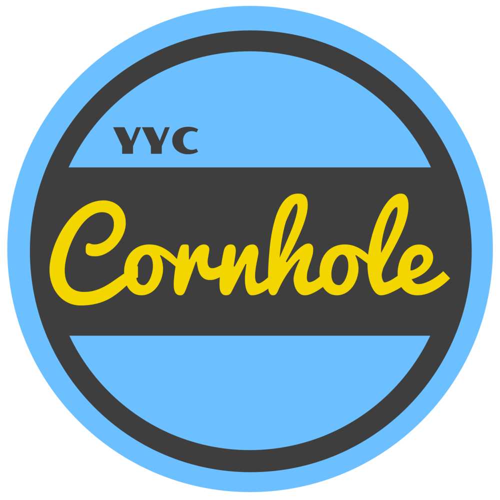 YYC Cornhole Logo