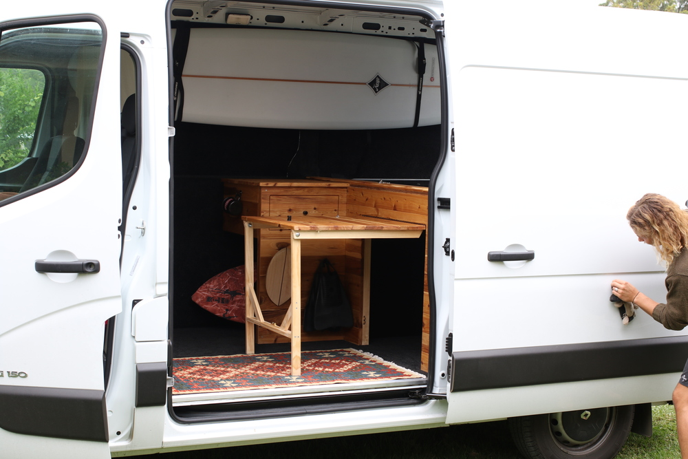 Vanlife Fitout Conversion For Nathan Hawes
