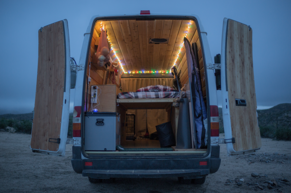 Cyrus Sutton Sprinter Conversion Vanlife