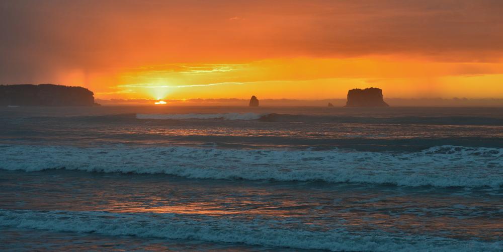 Greymouth sunset Photo @bossemarcus