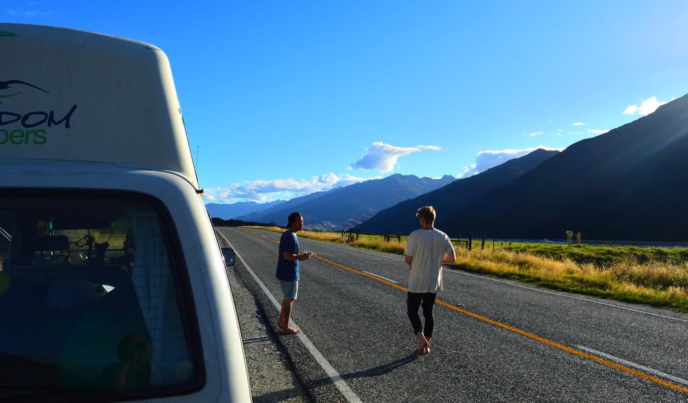 On the road Photo@bossemarcus Left@crippoo