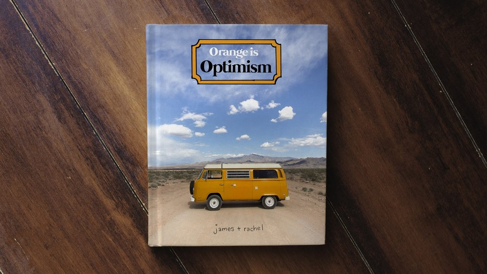 Orange is Optimism, a book by Idle Theory Bus
