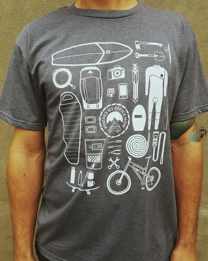 WMON x Westfalyeah x Go-Van T-shirt