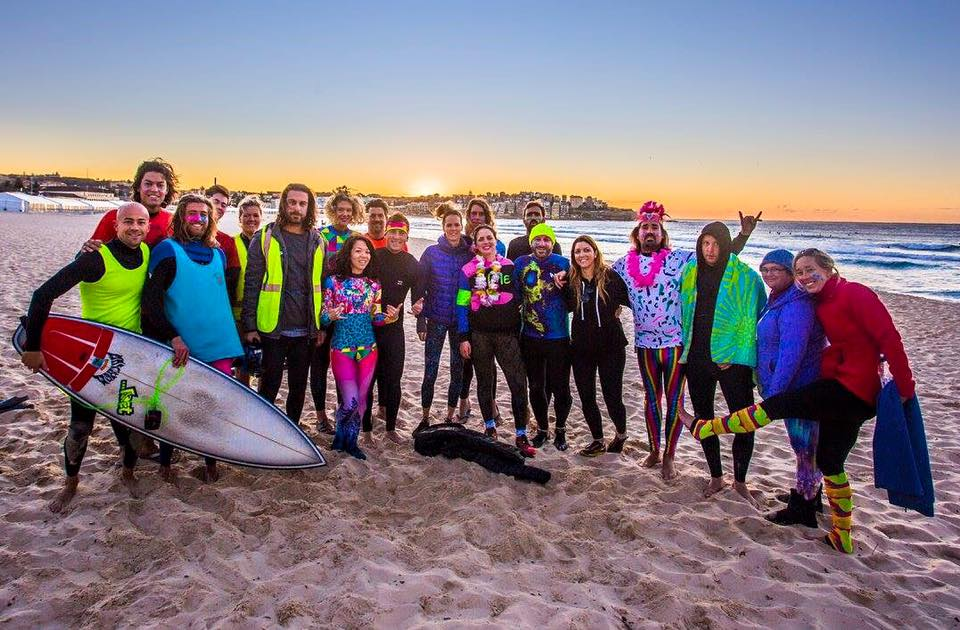 "One Wave ""Free the Funk Surf"" Raising awareness for Mental Health whilst building community"
