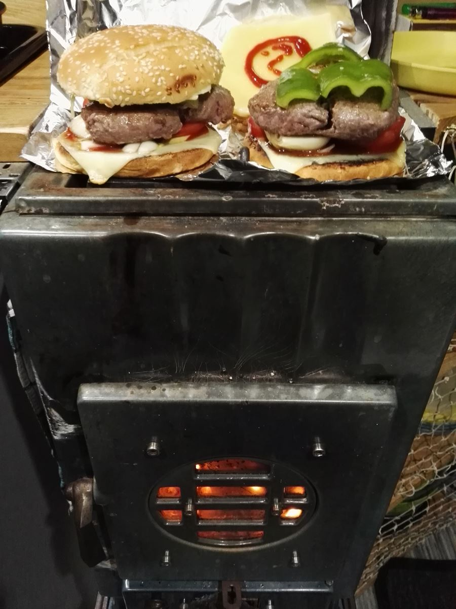 Cooking on our wood stove.jpg