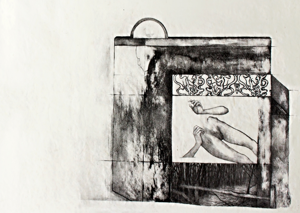 Lithograph on handmade paper