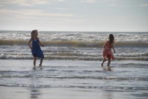 Two Kids: Eva and Oriwa Hakaraia