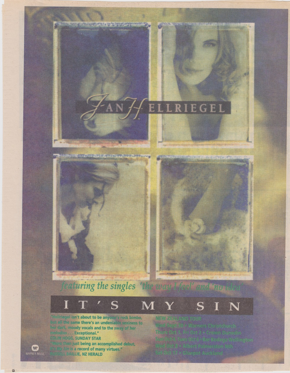 'It's My Sin' Ad