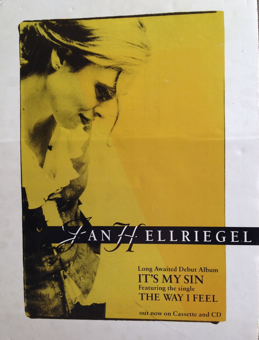 'It's My Sin' Poster