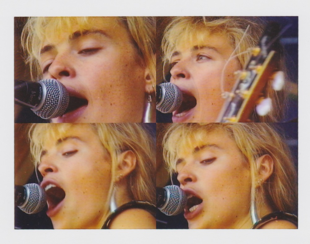 Jan on stage - 1990
