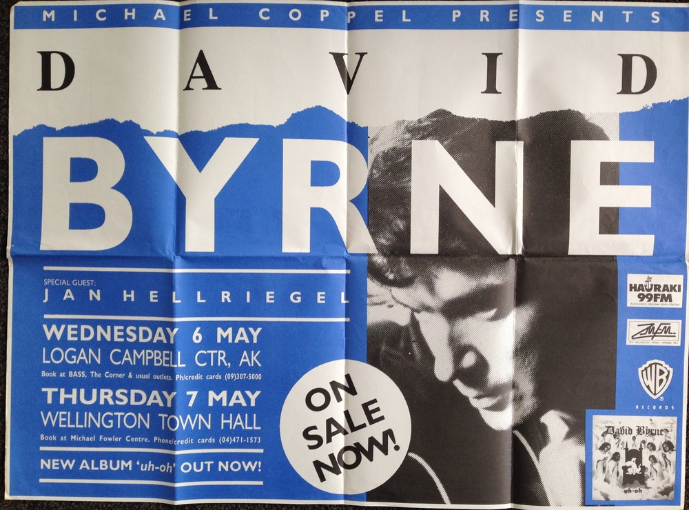 David Byrne Poster - 1992