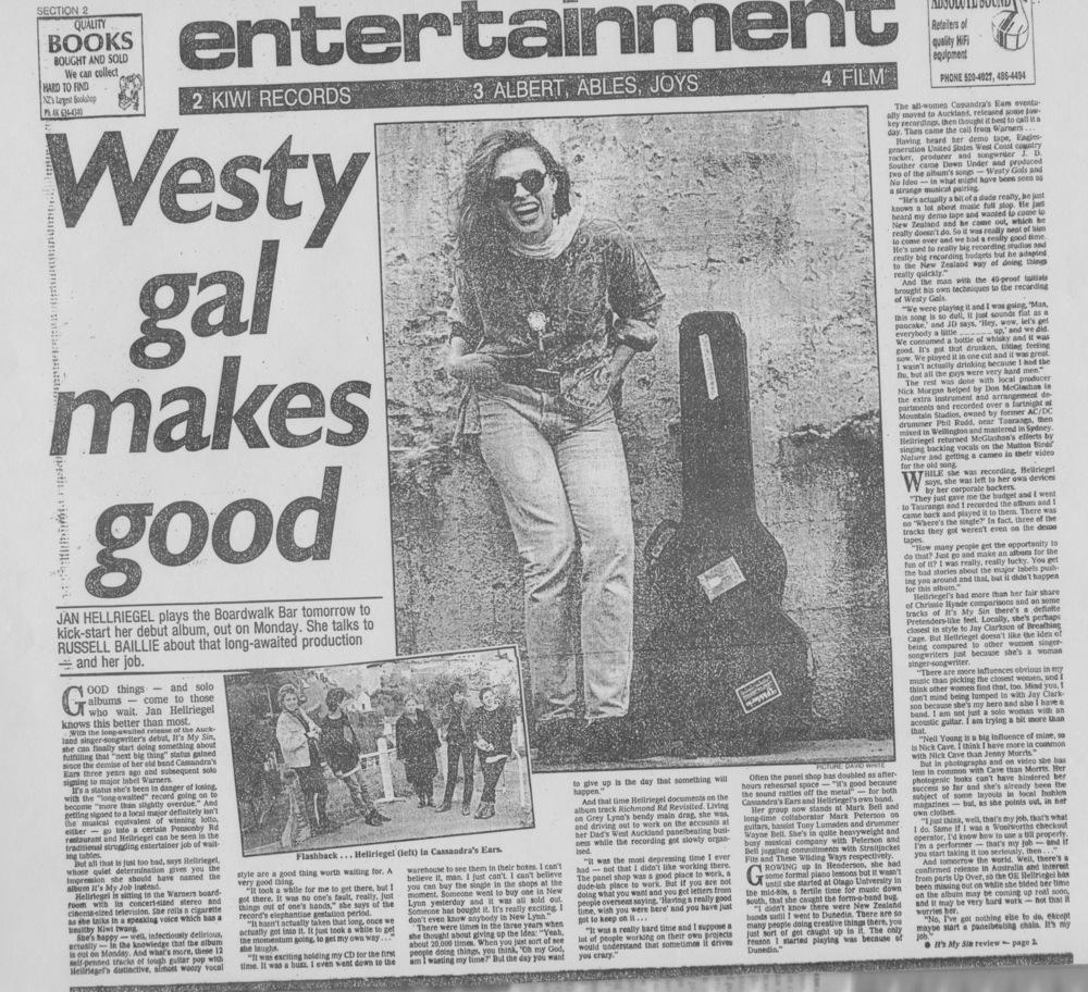 NZ Herald // Russell Baillie - 1992