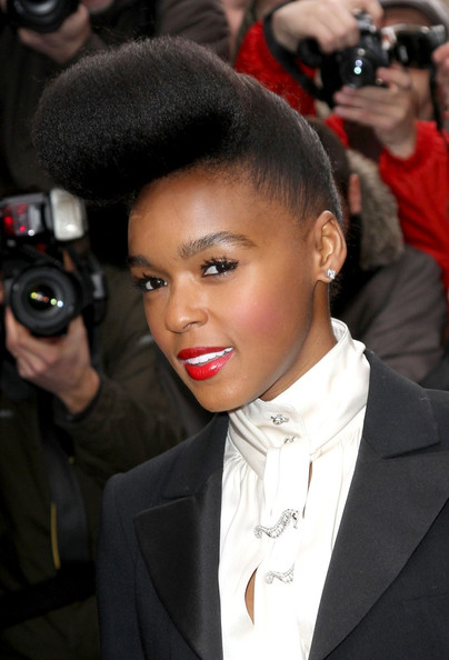 5th Hairstyles - Janelle Monae