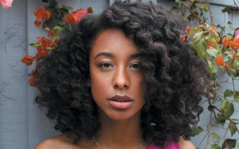 Corrine Bailey Rae - 1st hairstyle
