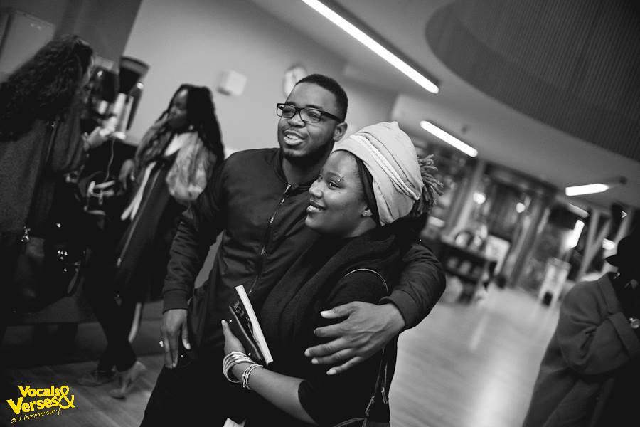 Deborah (editor) and YJ (hip hop artist)