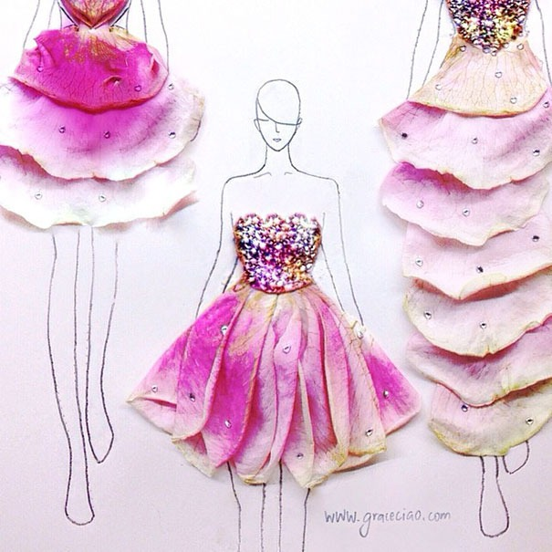 clever-fashion-illustrations-with-real-flower-petals-as-clothes-__605