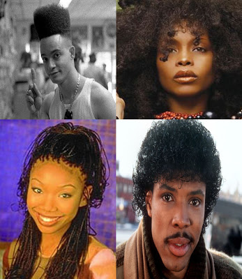 Black Hair in the 80s and 90s.