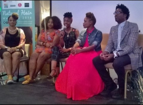 Natural Hair Week panel discussion