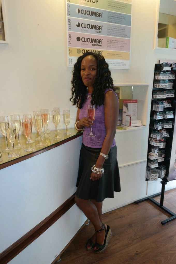 Vivienne Nweke, Co-Founder of Cucumba Salon