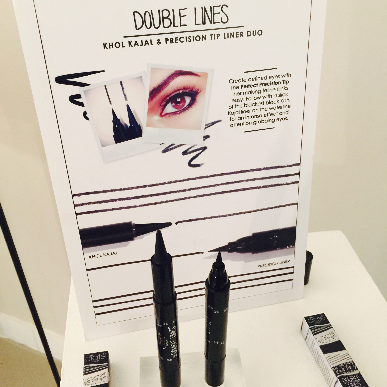 'Double Lines' Liquid Khol & Eyeliner Felt Pen Duo