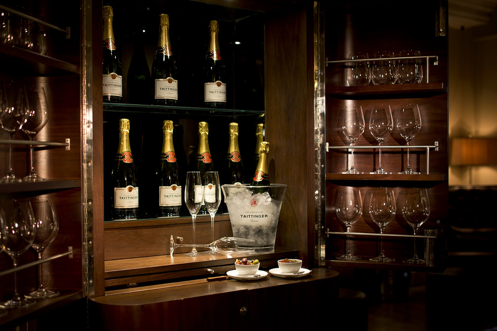 Champagne, The Arch London. Photography must be credited to The Arch London
