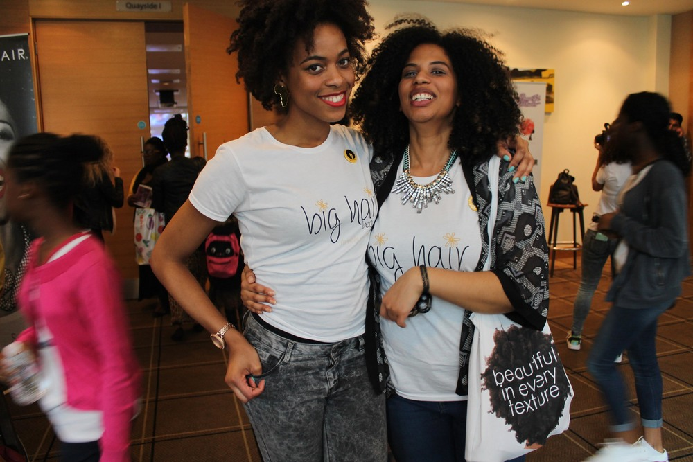 Neecie and Elle of Natural Hair Daily
