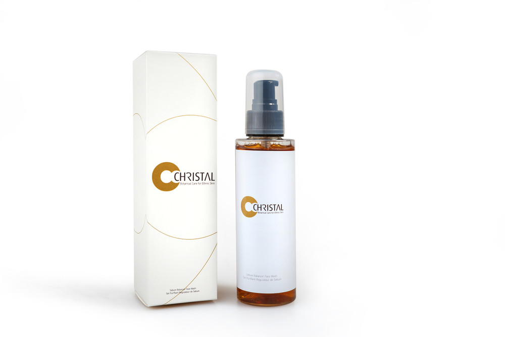 CHRISTAL Sebum Balancing Facial Wash
