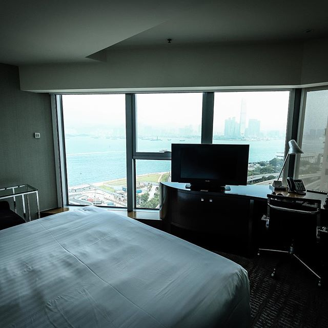 Wake up view in Hong Kong... Not bad