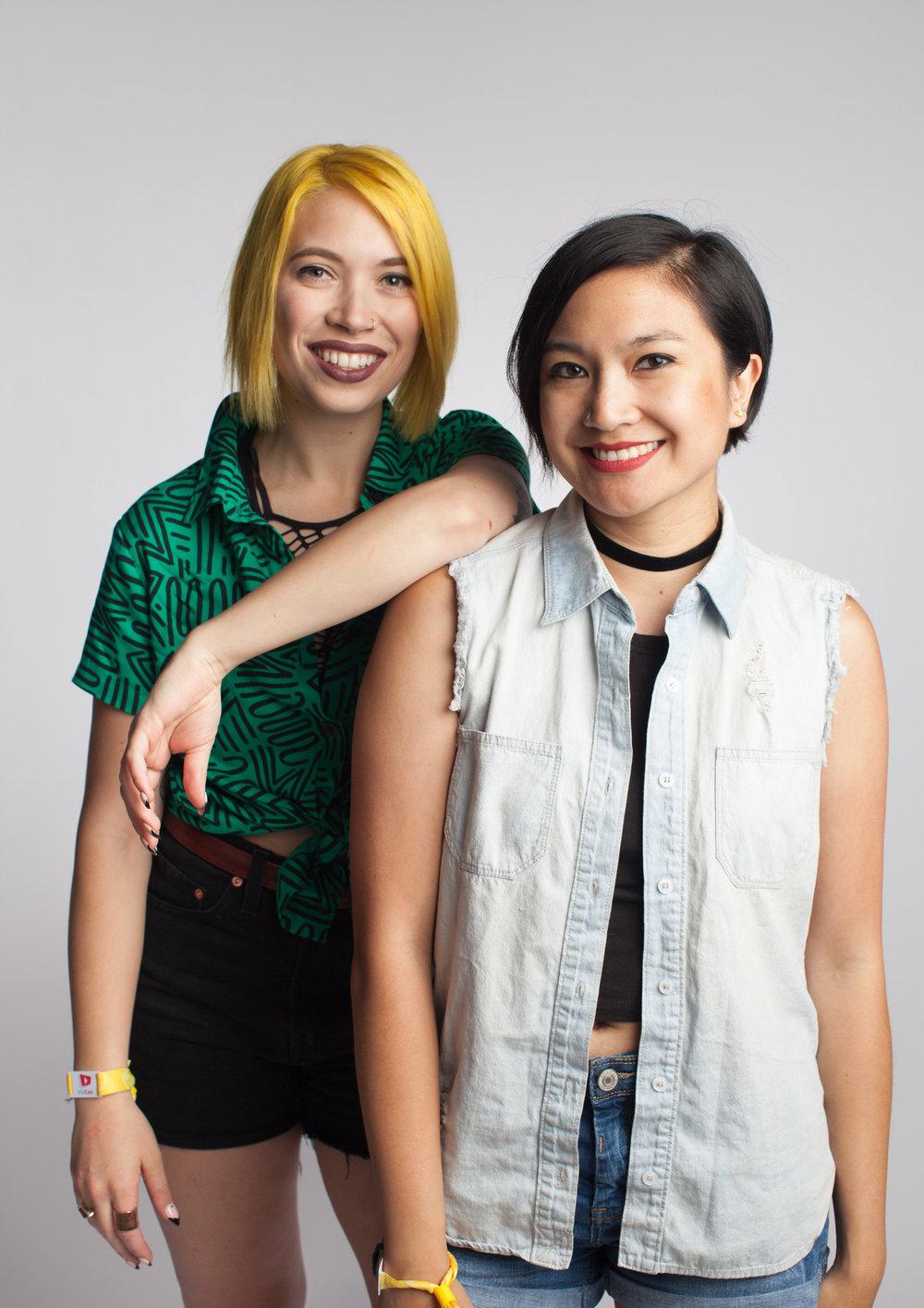Megan Toenyes & Sapphire Sandalo