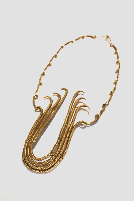 Egyptian Palm Necklace Set