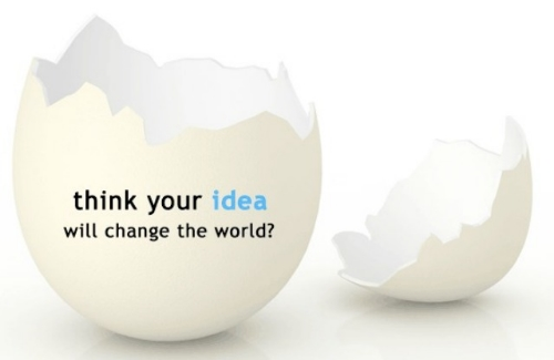 Think your idea will change the world?