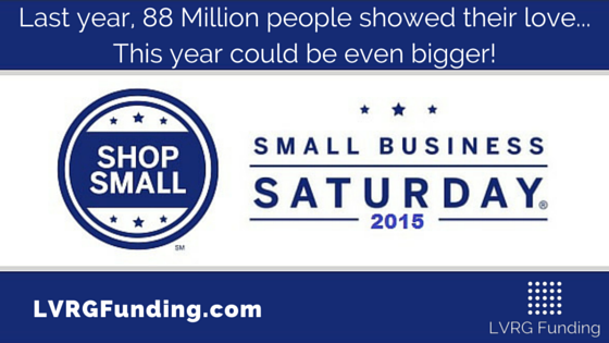 Make the Most of Small Business Saturday 2015