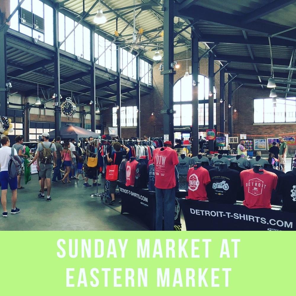 Sunday Market at Eastern Market, Detroit