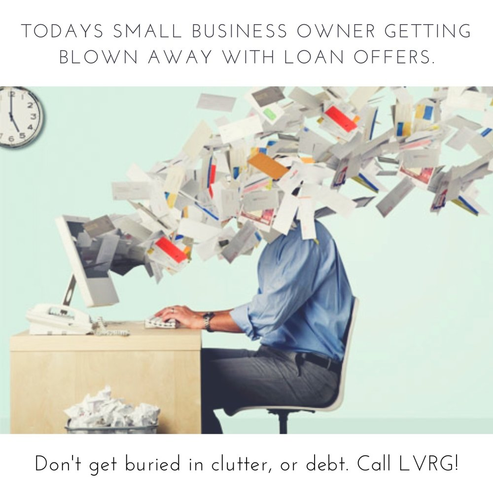Getting blown away with small business loan offers?