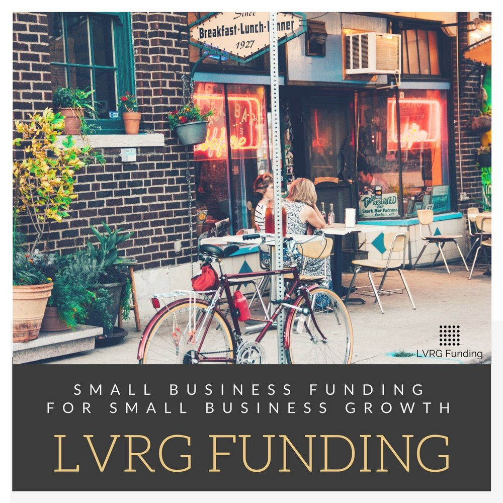 LVRG is a Transformational Small Business Funding Company, Not Transactional.