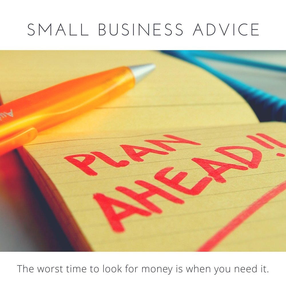 LVRG Funding Small Business Advice: Plan Ahead.