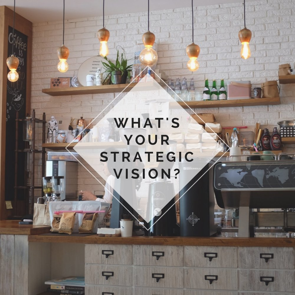 Small Business Tip: Establish Your Strategic Vision