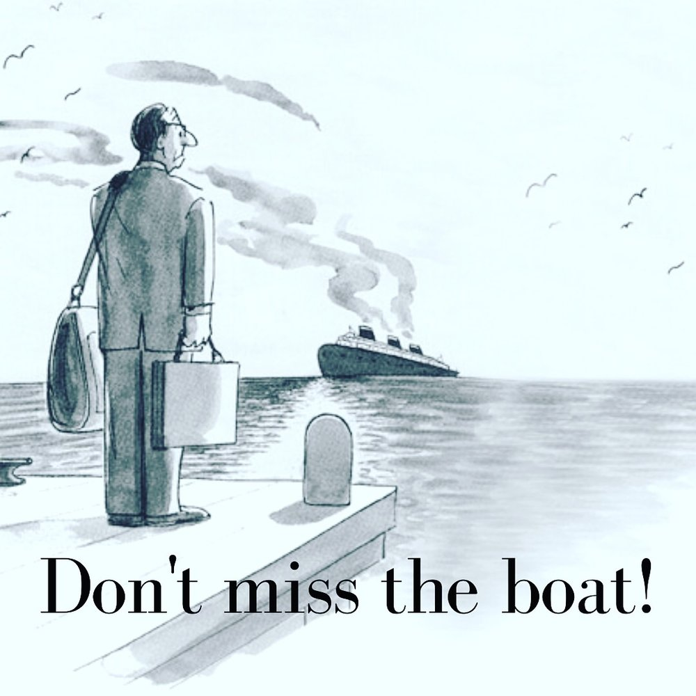 Small Business Tip for the Holidays: Don't Miss the Boat!