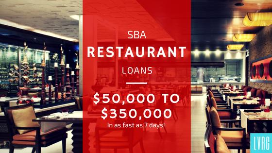 SBA Restaurant Loans Restaurant Equipment Restaurants Financing Fast Restaurant Biz Loans