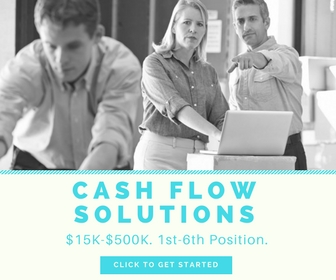 Are there any alternative financing options for small businesses with bad credit or no credit history cash flow solutions