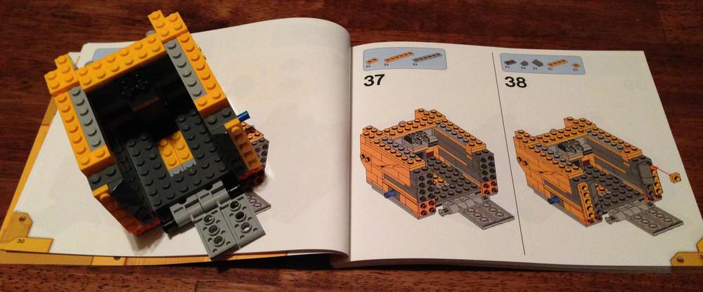 Set Review Wall E 21303 Bricks For Bricks