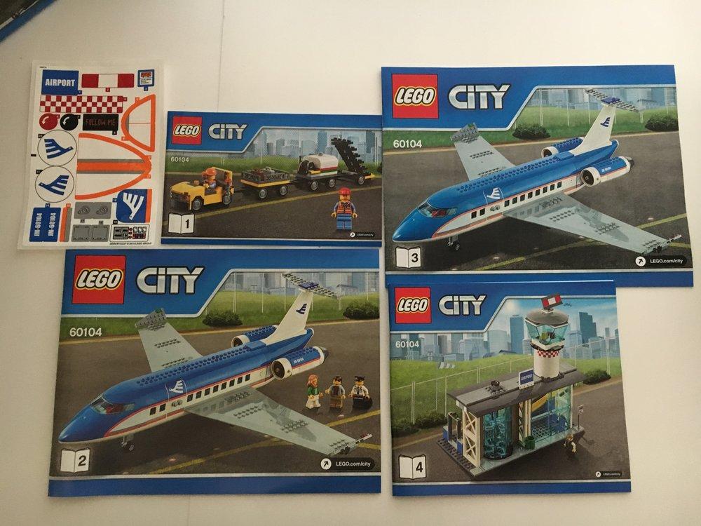 Set Review Airport Passenger Terminal 60104 Lego City Bricks