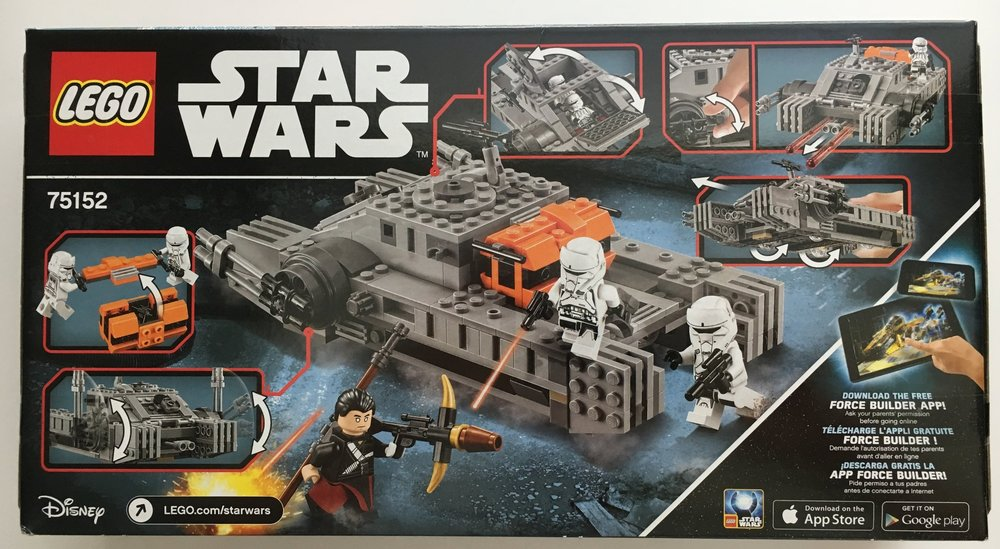 Set Review - #75152 - Star Wars - Imperial Assault Hovertank ...