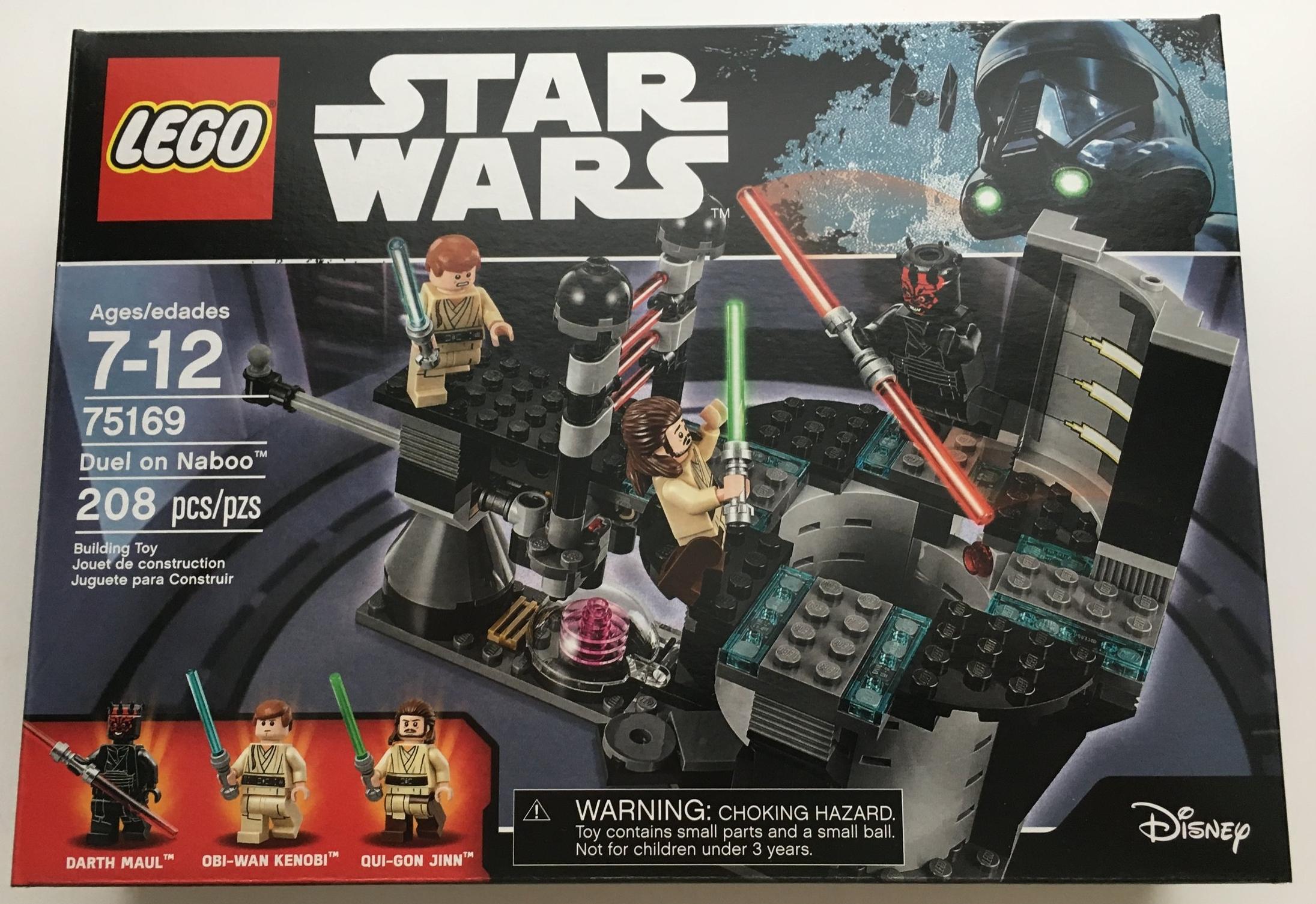 LEGO STAR WARS OBI-WAN KENOBI 75169 Mini Figura