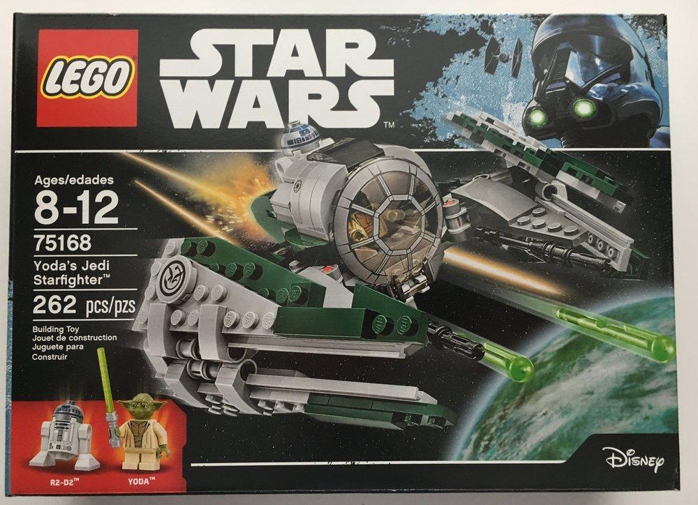 Set Review 75168 Yodas Jedi Starfighter Star Wars Bricks