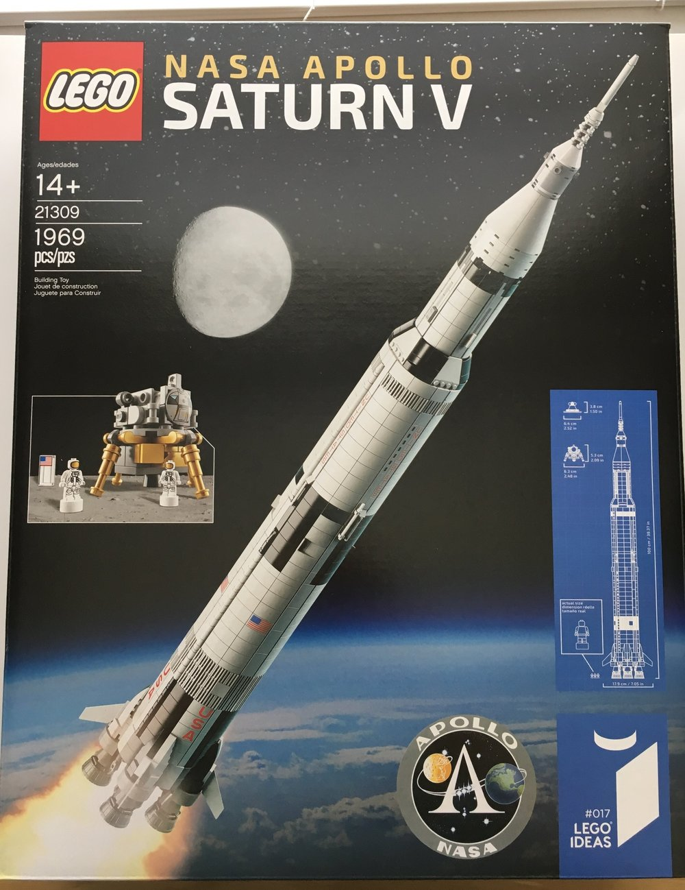 Set Review 21309 Nasa Apollo Saturn V Lego Ideas Bricks For