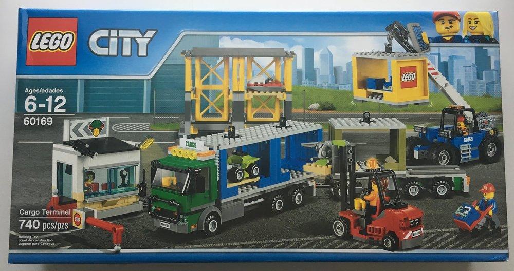 Set Review 60169 Cargo Terminal Lego City Bricks For Bricks